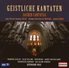 Geistliche Kantaten, CD