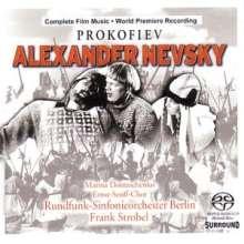 Serge Prokofieff (1891-1953): Alexander Newski (Restaurierte Originalpartitur), SACD