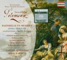 Georg Philipp Telemann (1681-1767): Pastorelle en Musique (Opera Serenata), 2 Super Audio CDs