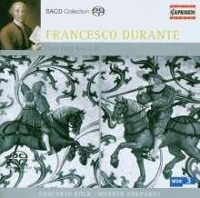 Francesco Durante (1684-1755): Concerti Nr.1-5,8, Super Audio CD