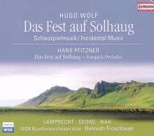 Hugo Wolf (1860-1903): Das Fest auf Solhaug (Schauspielmusik), SACD