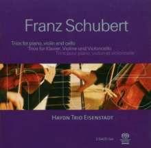 Franz Schubert (1797-1828): Klaviertrios Nr.1 & 2, 2 SACDs
