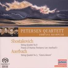 Dmitri Schostakowitsch (1906-1975): Streichquartett Nr.8, Super Audio CD
