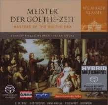 Weimarer Klassik - Musik der Goethe-Zeit, Super Audio CD