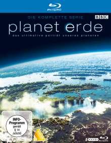 Planet Erde (Komplette Serie) (Blu-ray), 5 Blu-ray Discs