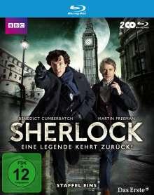 Sherlock Staffel 1 (Blu-ray), 2 Blu-ray Discs