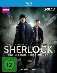Sherlock Staffel 2 (Blu-ray), 2 Blu-ray Discs