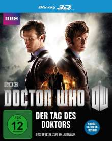 Doctor Who - Der Tag des Doktors (3D Blu-ray), Blu-ray Disc