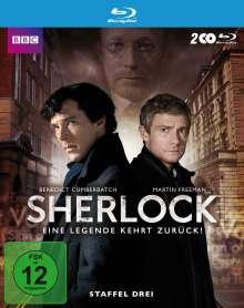 Sherlock Staffel 3 (Blu-ray), 2 Blu-ray Discs