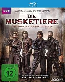 Die Musketiere Staffel 1 (Blu-ray), 3 Blu-ray Discs