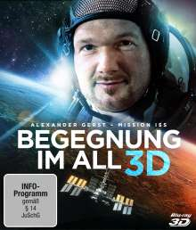 Begegnung im All - Mission ISS (3D Blu-ray), Blu-ray Disc