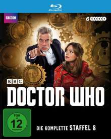 Doctor Who Season 8 (Blu-ray), 6 Blu-ray Discs