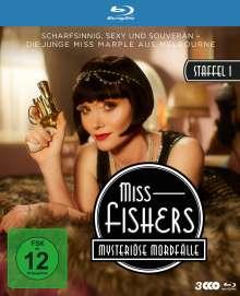 Miss Fishers mysteriöse Mordfälle Season 1 (Blu-ray), 3 Blu-ray Discs