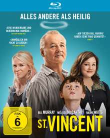 St. Vincent (Blu-ray), Blu-ray Disc