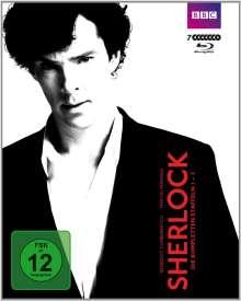 Sherlock Staffel 1-3 (Blu-ray), 7 Blu-ray Discs