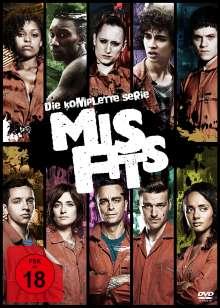 Misfits (Komplette Serie) (Blu-ray), 10 Blu-ray Discs
