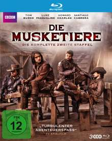 Die Musketiere Staffel 2 (Blu-ray), 3 Blu-ray Discs