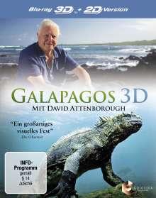 Galapagos mit David Attenborough (3D Blu-ray), Blu-ray Disc