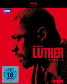 Luther Staffel 1-3 (Blu-ray), 4 Blu-ray Discs