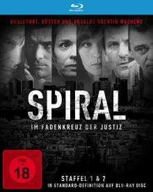 Spiral Staffel 1 & 2 (Blu-ray), Blu-ray Disc