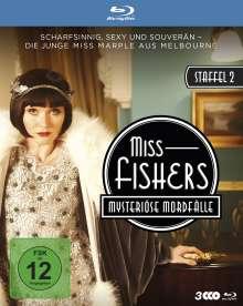 Miss Fishers mysteriöse Mordfälle Season 2 (Blu-ray), 3 Blu-ray Discs