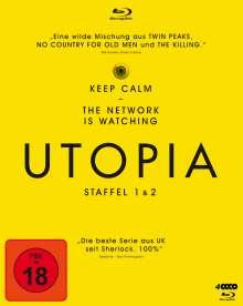 Utopia Staffel 1 & 2 (Blu-ray), 4 Blu-ray Discs
