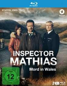 Inspector Mathias: Mord in Wales Staffel 2 (Blu-ray), 2 Blu-ray Discs
