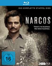 Narcos Staffel 1 (Blu-ray), 3 Blu-ray Discs