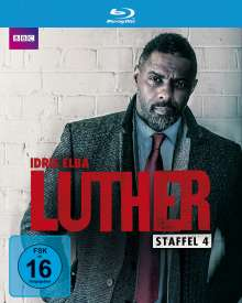 Luther Staffel 4 (Blu-ray), Blu-ray Disc