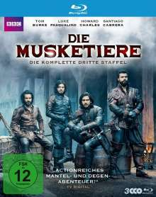 Die Musketiere Staffel 3 (finale Staffel) (Blu-ray), 3 Blu-ray Discs