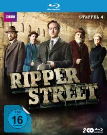 Ripper Street Staffel 4 (Blu-ray), 2 Blu-ray Discs