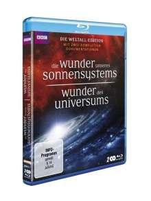 Wunder des Universums / Die Wunder unseres Sonnensystems (Blu-ray), 2 Blu-ray Discs