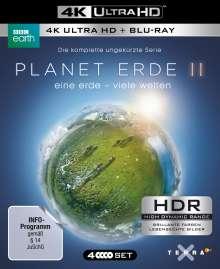 Planet Erde 2: Eine Erde - Viele Welten (Ultra HD Blu-ray & Blu-ray), 2 Ultra HD Blu-rays