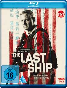 The Last Ship Staffel 3 (Blu-ray), 3 Blu-ray Discs