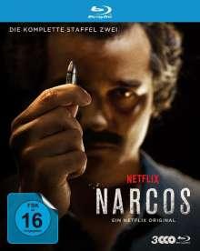 Narcos Staffel 2 (Blu-ray), 3 Blu-ray Discs