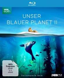 Unser blauer Planet II (Komplette Serie) (Blu-ray), 3 Blu-ray Discs