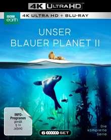 Unser blauer Planet II (Komplette Serie) (Ultra HD Blu-ray & Blu-ray), 3 Ultra HD Blu-rays