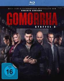 Gomorrha Staffel 3 (Blu-ray), 3 Blu-ray Discs
