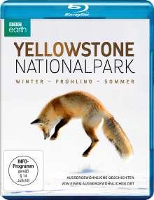 Yellowstone Nationalpark: Winter - Frühling - Sommer (Blu-ray), Blu-ray Disc