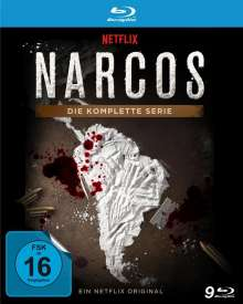 Narcos (Komplette Serie) (Blu-ray), 9 Blu-ray Discs