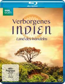 Verborgenes Indien - Land des Wandelns (Blu-ray), Blu-ray Disc