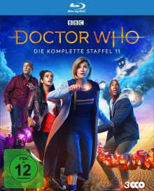 Doctor Who Staffel 11 (Blu-ray), 3 Blu-ray Discs