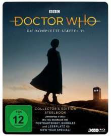 Doctor Who Staffel 11 (Collector's Edition) (Blu-ray im Steelbook), 3 Blu-ray Discs
