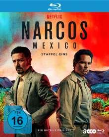 Narcos: Mexico Staffel 1 (Blu-ray), 3 Blu-ray Discs