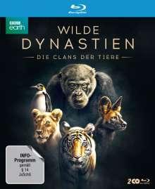 Wilde Dynastien - Die Clans der Tiere (Blu-ray), 2 Blu-ray Discs