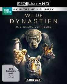 Wilde Dynastien - Die Clans der Tiere (Ultra HD Blu-ray & Blu-ray), 2 Ultra HD Blu-rays