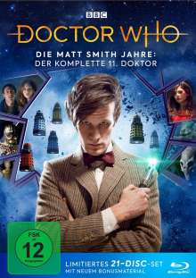 Doctor Who - Die Matt Smith Jahre: Der komplette 11. Doktor (Blu-ray), 21 Blu-ray Discs