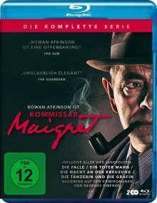 Kommissar Maigret (Komplette Serie) (Blu-ray), 2 Blu-ray Discs