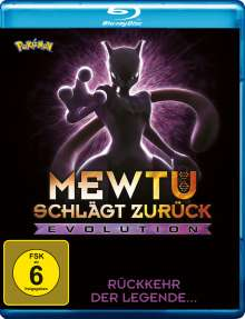 Pokémon: Mewtu schlägt zurück - Evolution (Blu-ray), DVD
