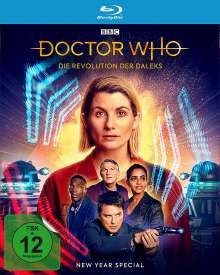 Doctor Who: Die Revolution der Daleks (New Year Special) (Blu-ray), Blu-ray Disc